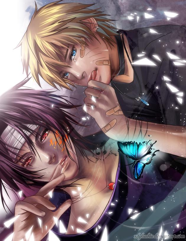 Tags: Anime, miho-nyc, NARUTO, Uchiha Sasuke, Uzumaki Naruto, deviantART, Jinchuuriki