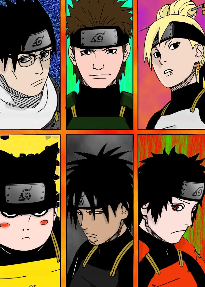 Tags: Anime, NARUTO, Mitokado Homura, Sarutobi Hiruzen, Utatane Koharu, Uchiha Kagami, Shimura Danzou, Akimichi Torifu
