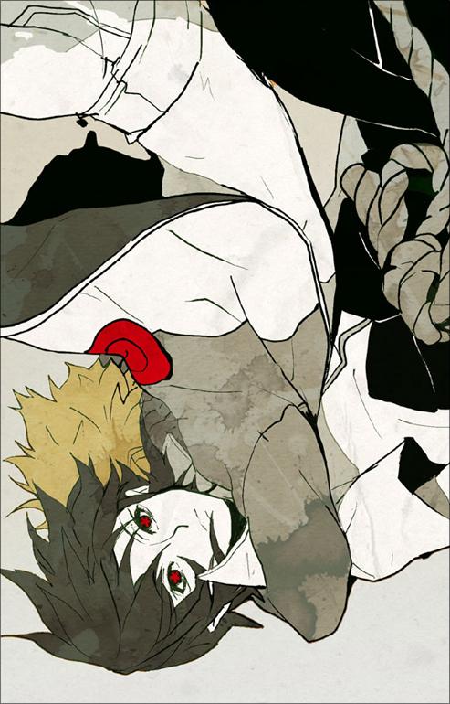 Tags: Anime, Inpells, NARUTO, Uzumaki Naruto, Uchiha Sasuke, Mobile Wallpaper, Pixiv, Jinchuuriki