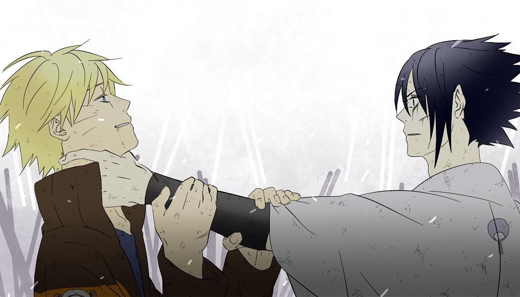NARUTO/#424875 - Zerochan Naruto And Sasuke Sad