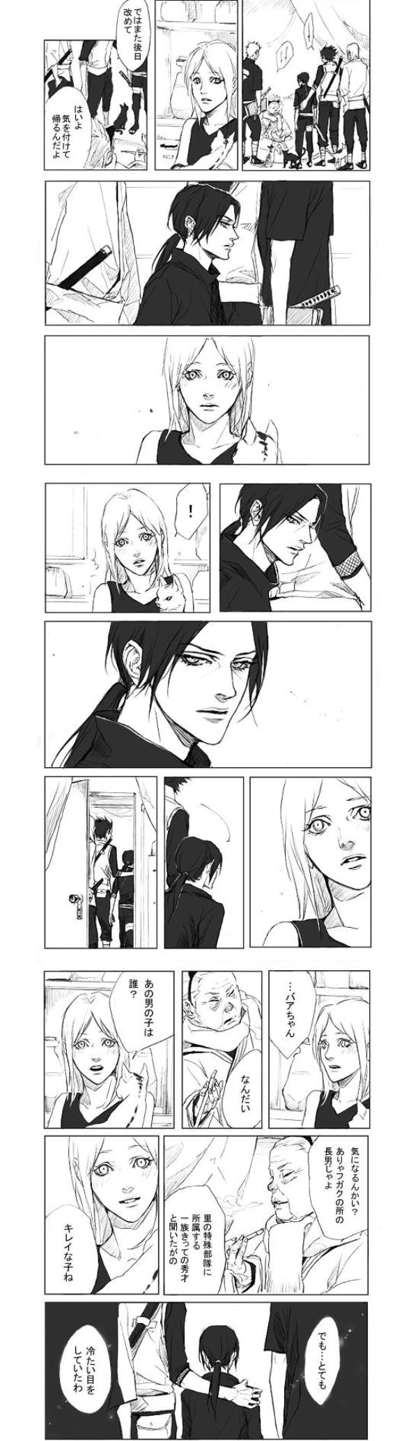 Tags: Anime, Lili Art, NARUTO, Uchiha Itachi, Nekobaa, Translation Request, Akatsuki (NARUTO)