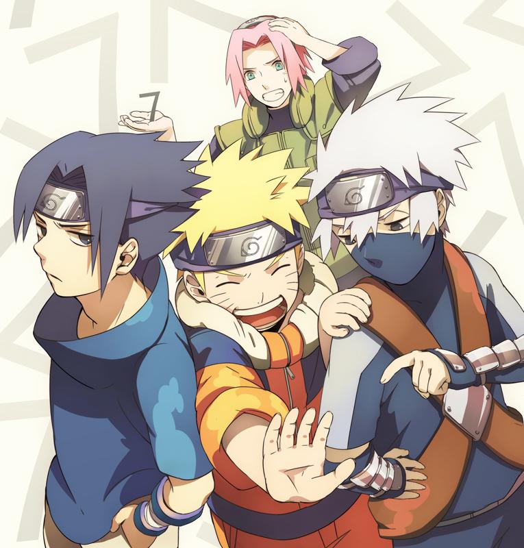Tags: NARUTO, Haruno Sakura, Uzumaki Naruto, Uchiha Sasuke, Hatake Kakashi, Team 7, Jinchuuriki, Min Tosu