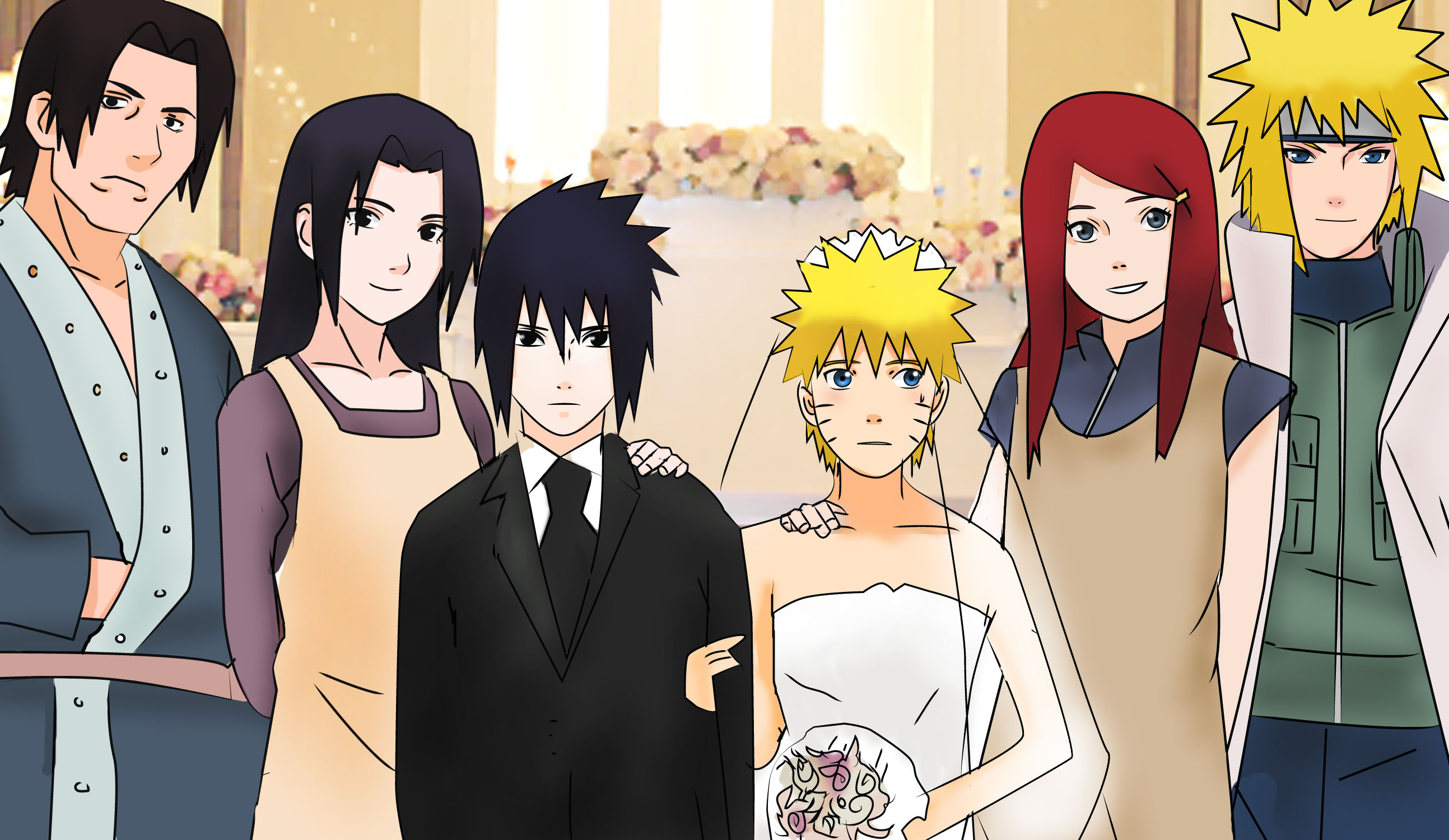 naruto and friends wallpaper