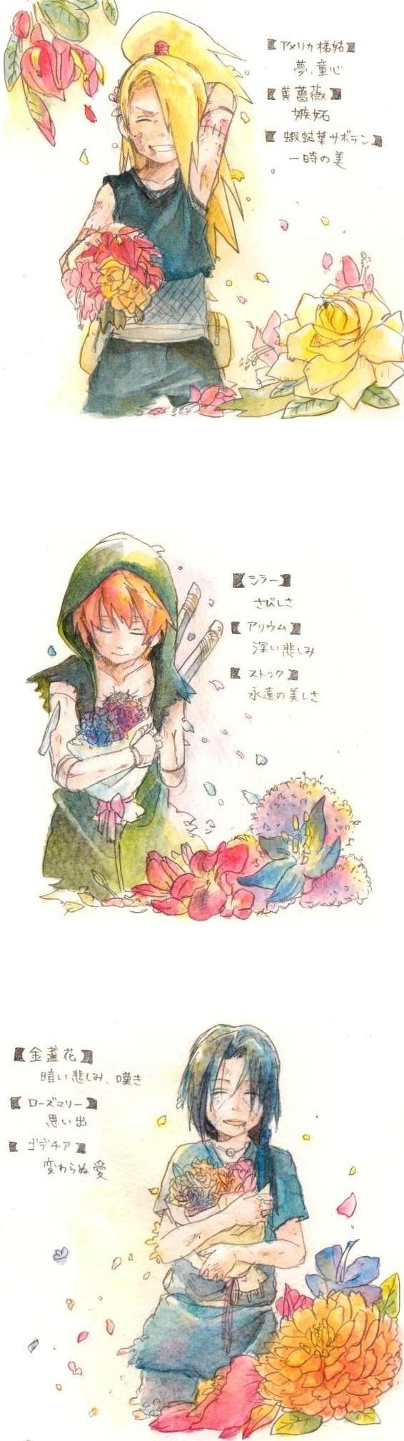 Tags: Anime, Pixiv Id 690754, NARUTO, Uchiha Itachi, Sasori, Deidara, Akatsuki (NARUTO)