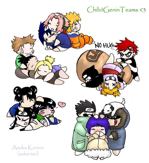 Tags: Anime, NARUTO, Uzumaki Naruto, Aburame Shino, Gaara, Akimichi Chouji, Haruno Sakura, Tenten, Hyuuga Hinata, Temari (NARUTO), Inuzuka Kiba, Akamaru (NARUTO), Rock Lee