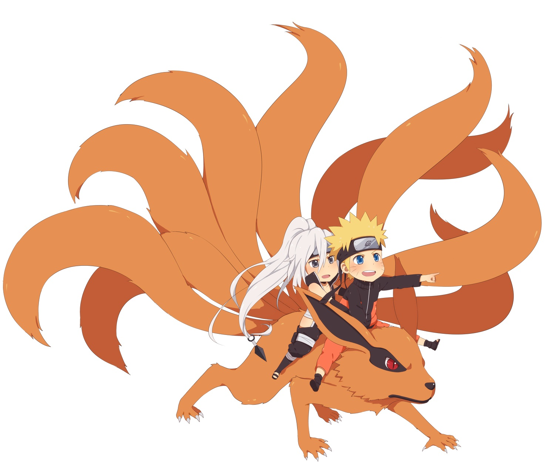 Kyuubi Jinchuuriki Uzumaki Naruto  Kyuubi