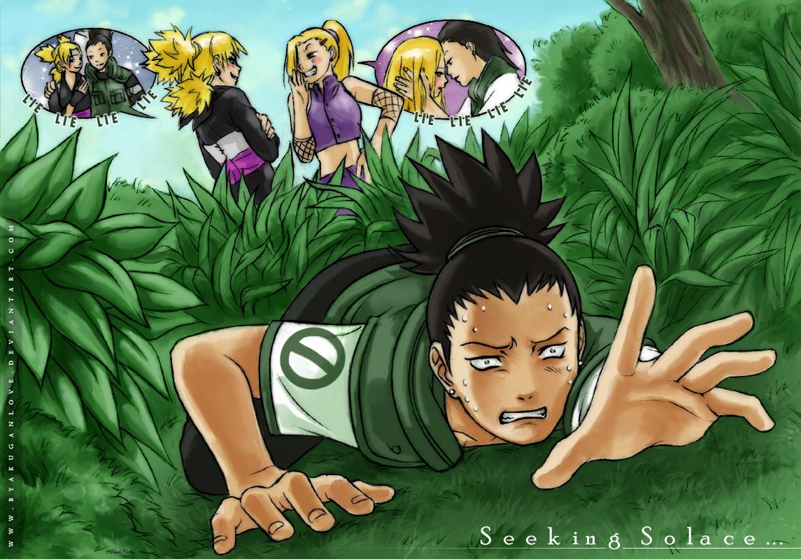 ShikaTema - NARUTO - Zerochan Anime Image Board