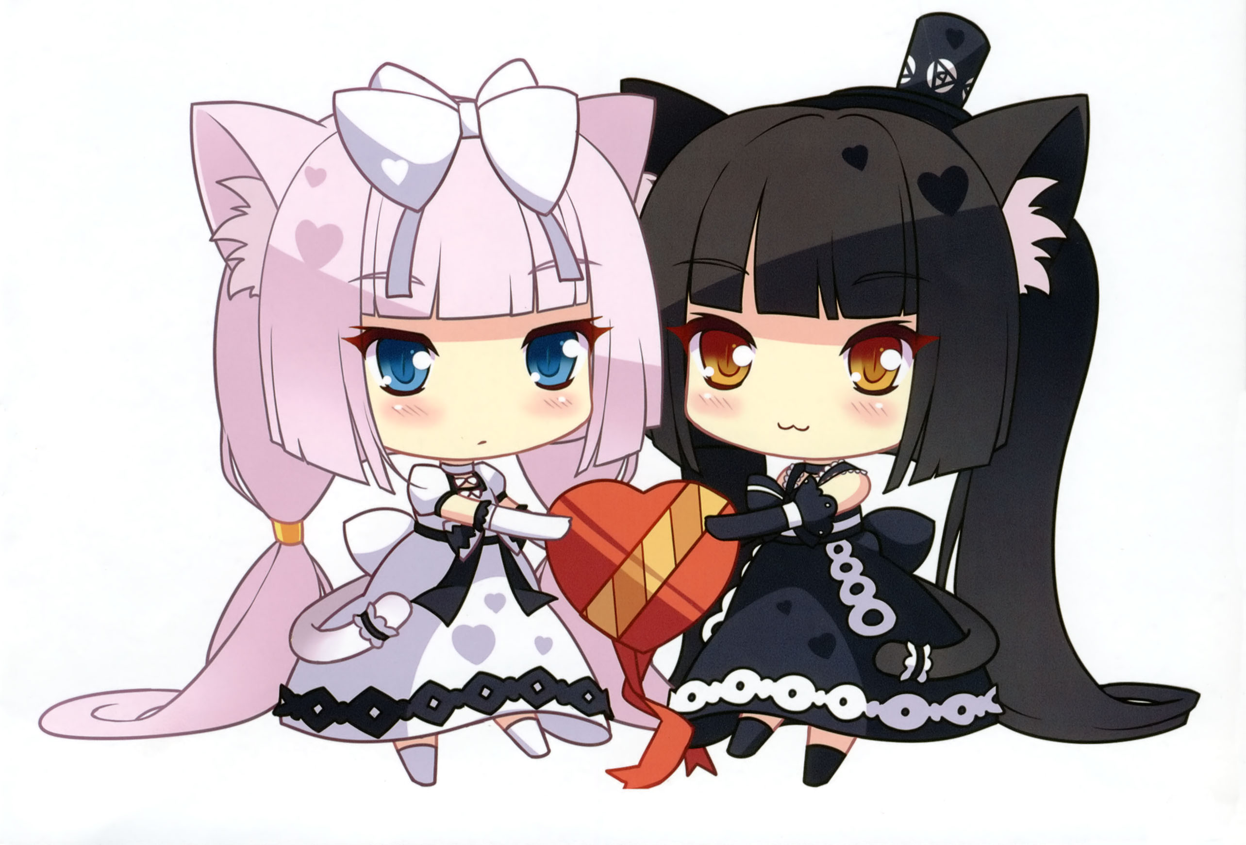 vanilla neko para wallpaper zerochan anime image board