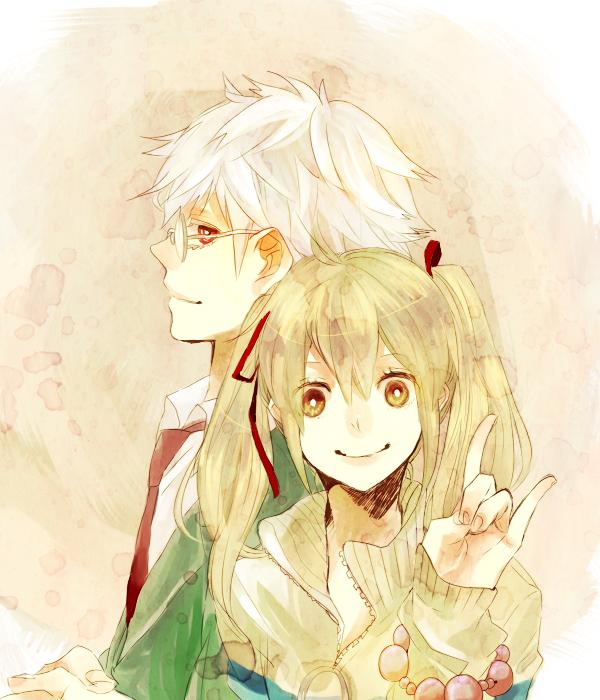 Tags: Anime, Nabari no Ou, Aizawa Kouichi, Shimizu Raimei, King Of Nabari