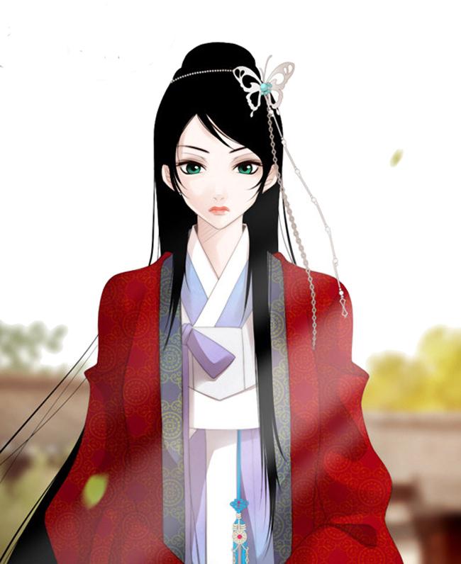 Tags: Anime, Muryui, Twelve Nights, Nabi (Twelve Nights), Korean Clothes, Fanart
