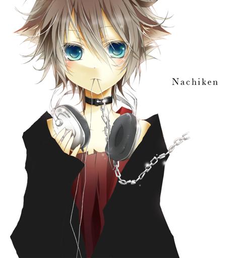 Tags: Anime, Kosora, Nachiken, Hand on Headphones, Nico Nico Douga, Nico Nico Singer