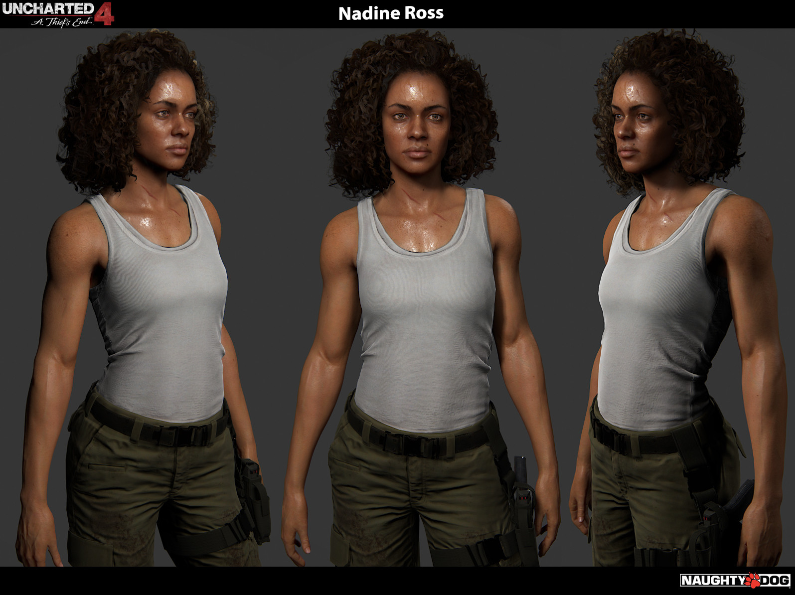 Nadine Ross Ross Nadine Uncharted The Lost Legacy Zerochan