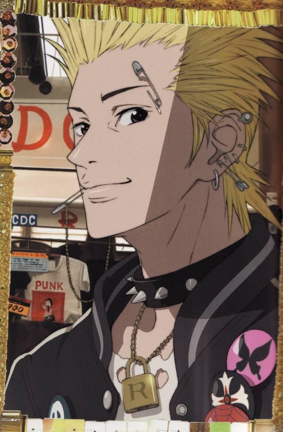 Tags: Anime, Paradise Kiss, Nagase Arashi, Official Art, Scan