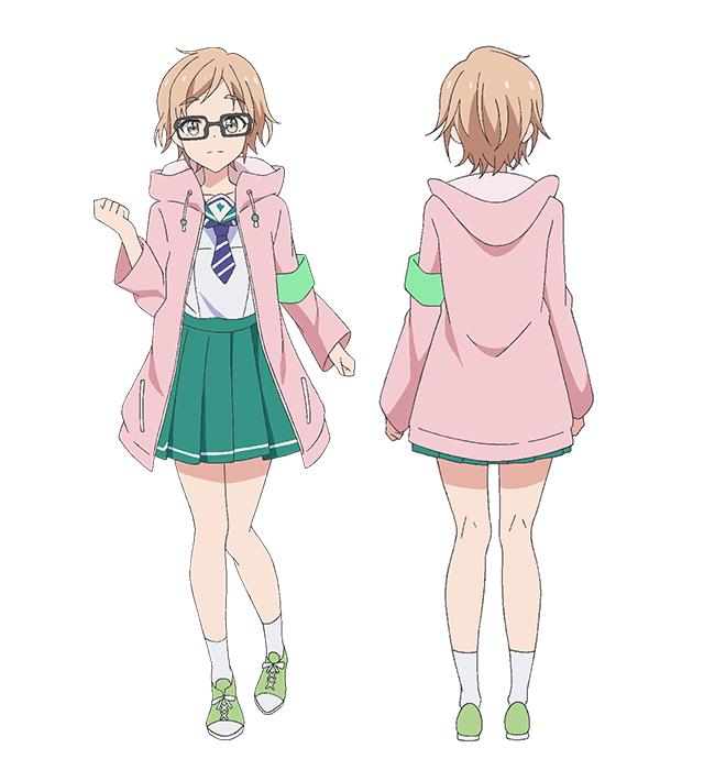 Tags: Anime, Sawairi Yuuki, Silver Link, Two Car, Nakajima Tsugumi, Cover Image, Official Art