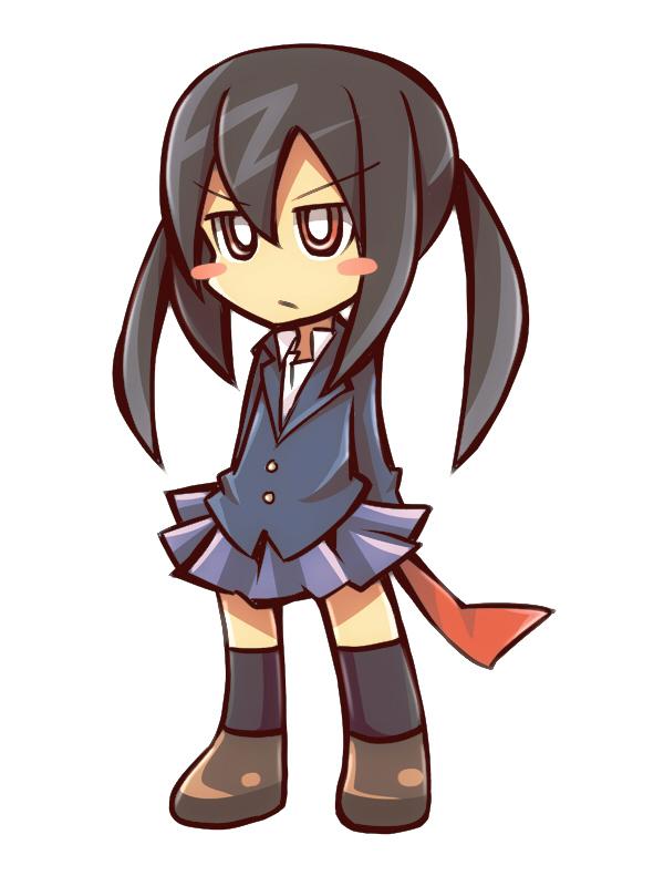 Tags: Anime, Drpow, K-ON!, Nakano Azusa, Pixiv, PSG Character Design