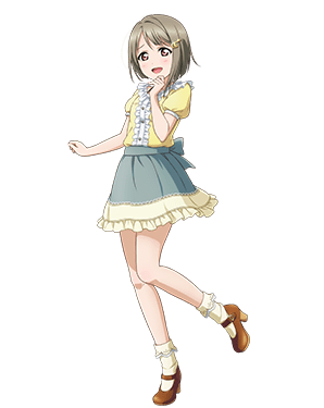 Tags: Anime, KLab, Love Live! School Idol Festival ALL STARS, Nakasu Kasumi, PNG Conversion, Official Art
