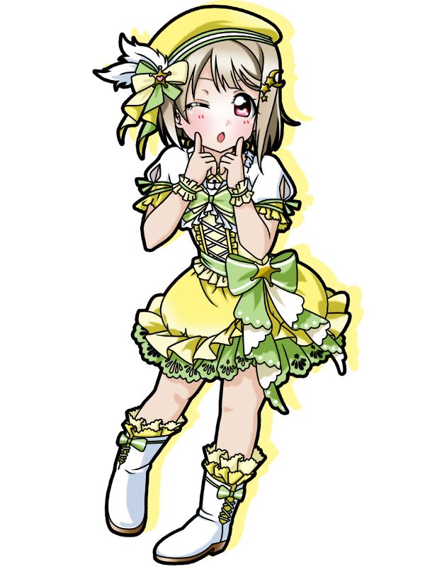 Tags: Anime, Pixiv Id 19421846, Love Live! School Idol Festival ALL STARS, Nakasu Kasumi, Pixiv, Fanart, Fanart From Pixiv