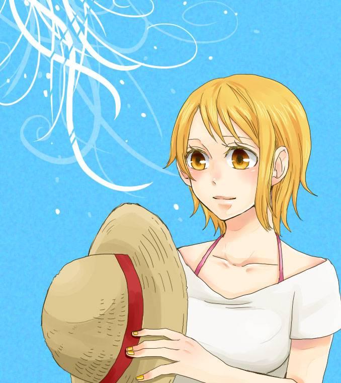 Nami one piece page 4 of 26 zerochan anime image board - Image one piece nami ...