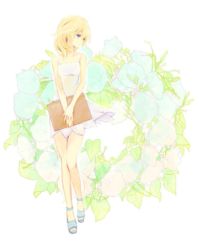 Tags: Anime, Pixiv Id 382496, Kingdom Hearts II, Naminé, Sketchbook, Fanart From Pixiv, Fanart, Pixiv