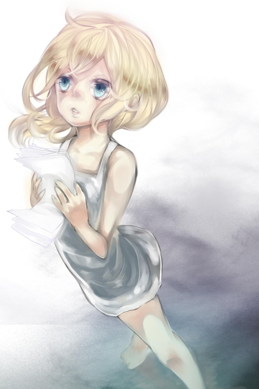 Blonde hair anime girls