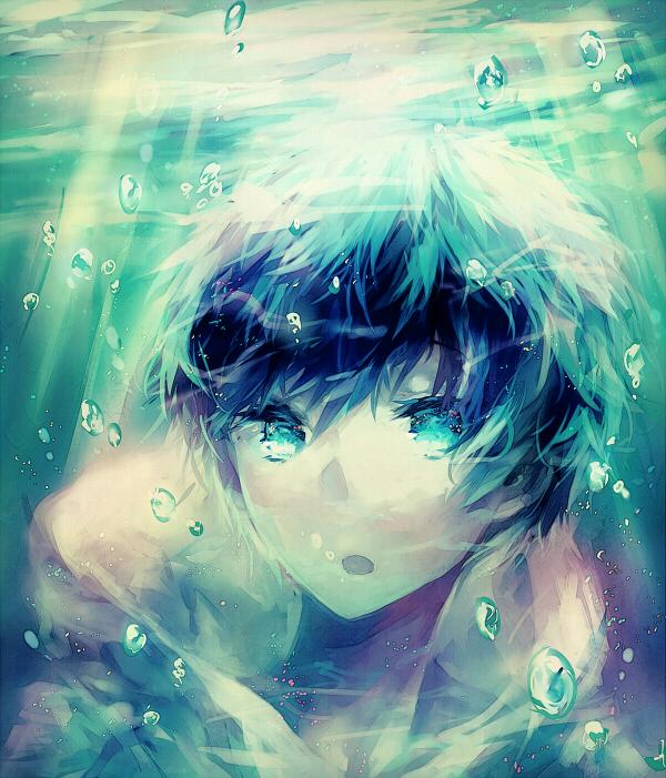 Tags: Anime, Leclle, Free!, Nanase Haruka (Free!), Pixiv, Fanart