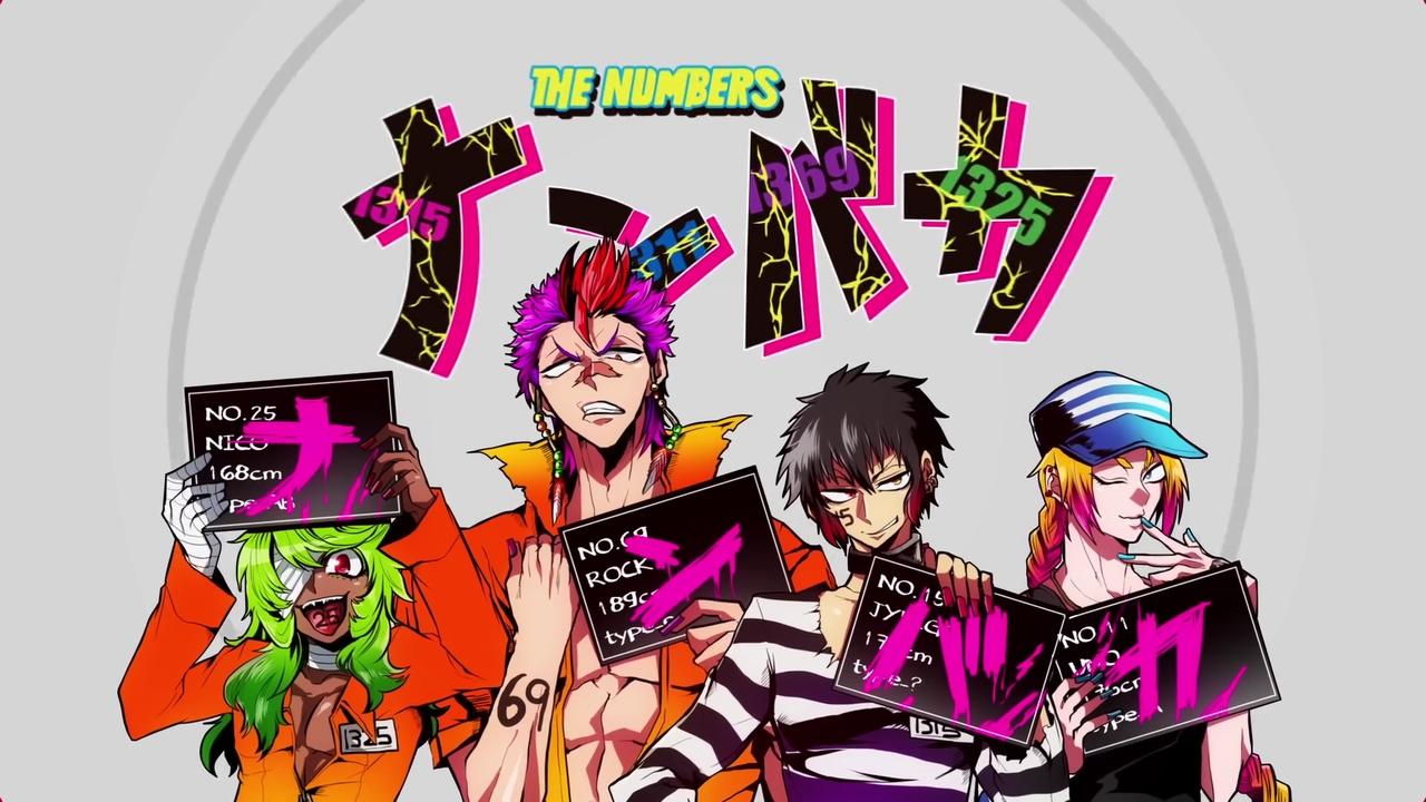Rock Nanbaka Zerochan Anime Image Board