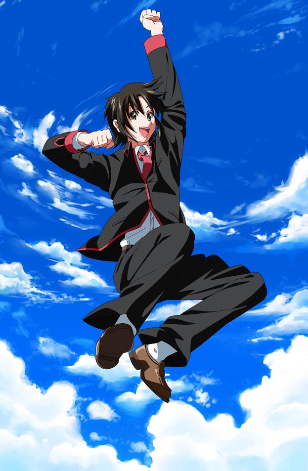 Tags: Anime, K3 (Dolphin Brain), Little Busters!, Naoe Riki, Fanart