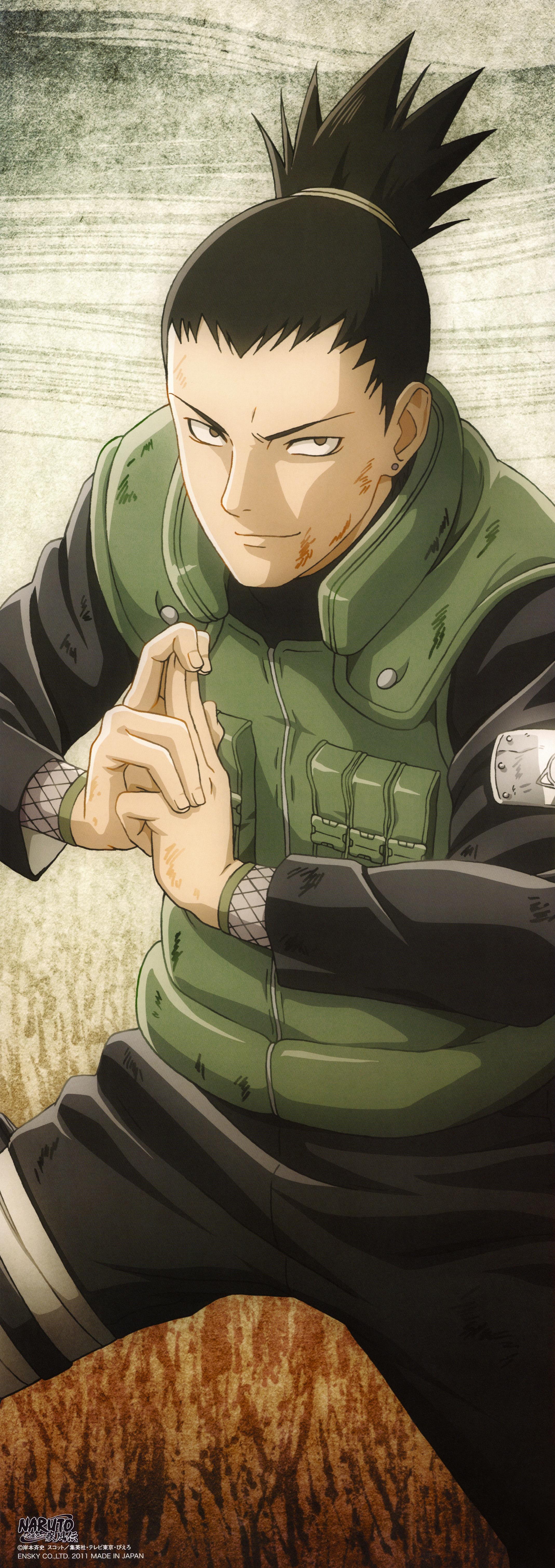 Nara Shikamaru Naruto Zerochan Anime Image Board