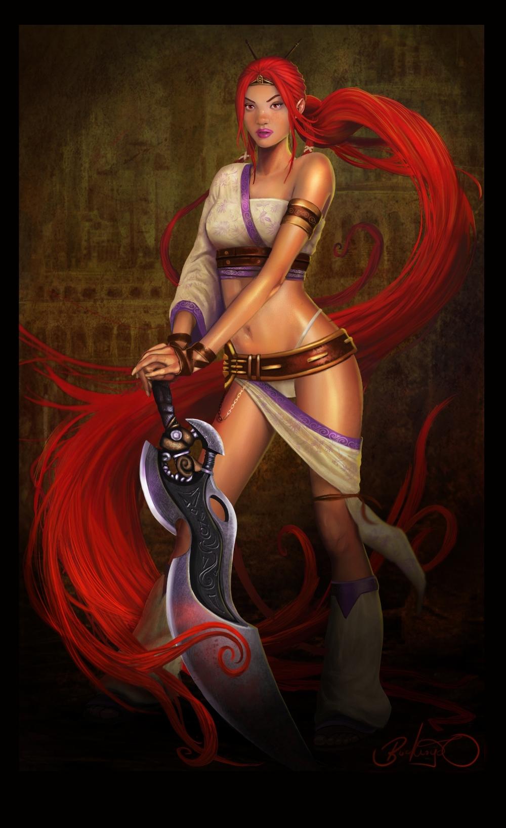 Kratos By Blackmagog