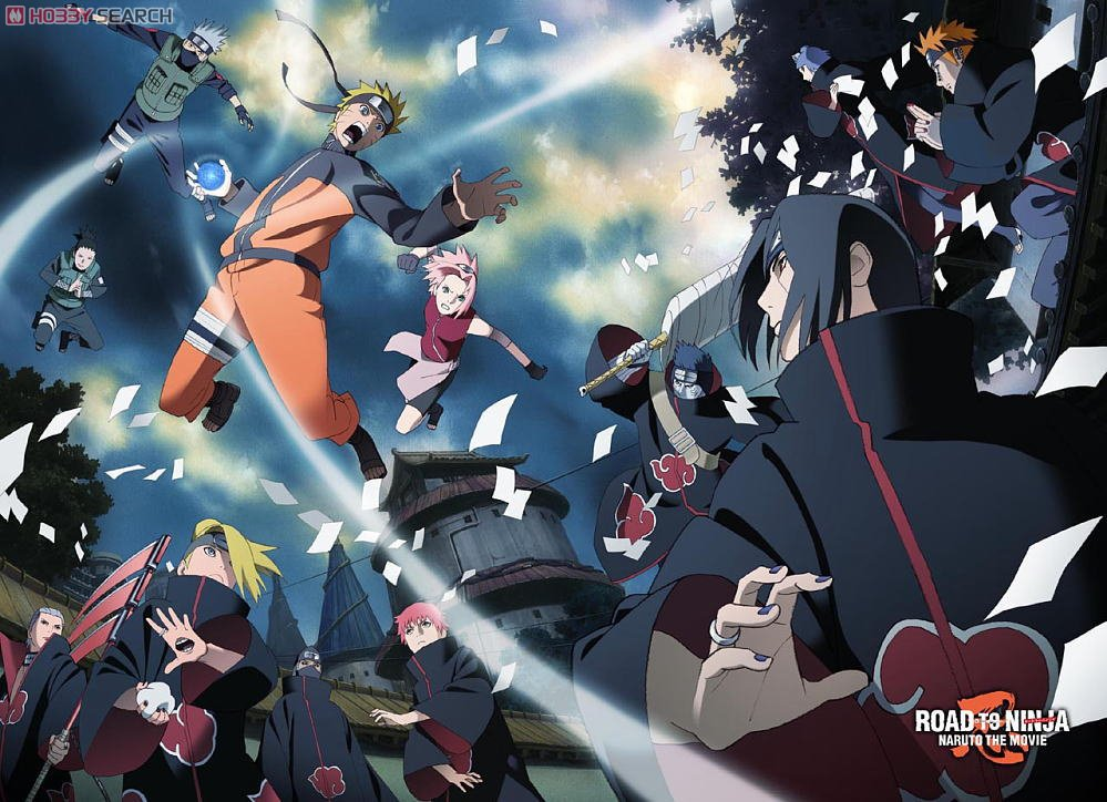 Itachi And Sakura Road To Ninja Road to Ninja  NARUTO