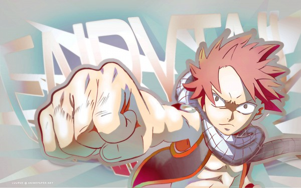 Tags: Anime, FAIRY TAIL, Natsu Dragneel, 1920x1200 Wallpaper, >:(, Widescreen 16:10 Ratio, Multi-colored Background