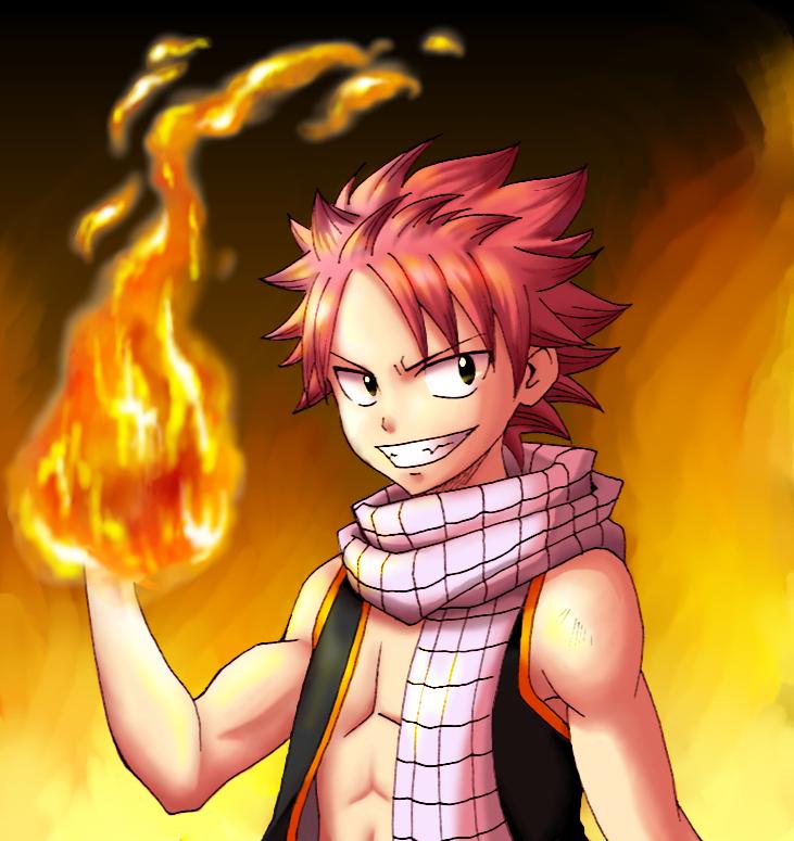 Anime Characters Using Fire : Natsu dragneel image  zerochan anime board