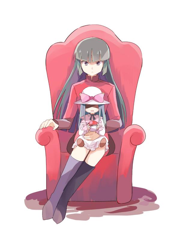 Tags: Anime, May (Pixiv Id 233774), Pokémon, Natsume (Pokémon), Fanart, Fanart From Pixiv, Pixiv, Sabrina (pokémon)