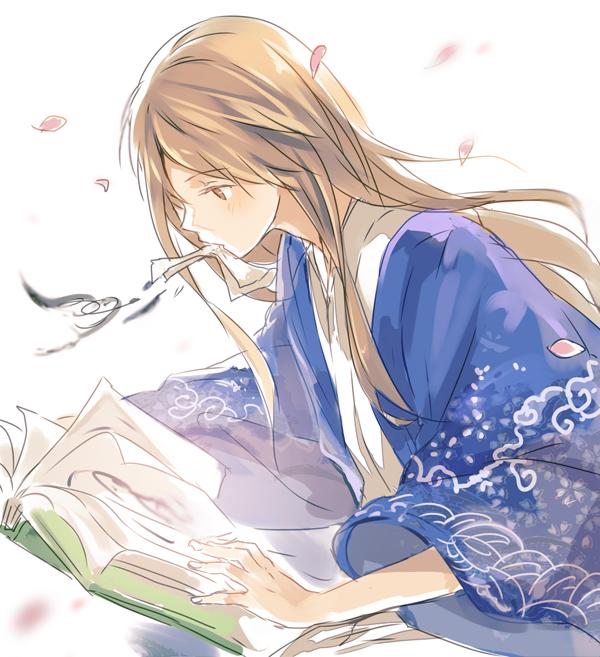 Tags: Anime, Nuriko-kun, Natsume Yuujinchou, Natsume Reiko, Tumblr, Fanart, PNG Conversion