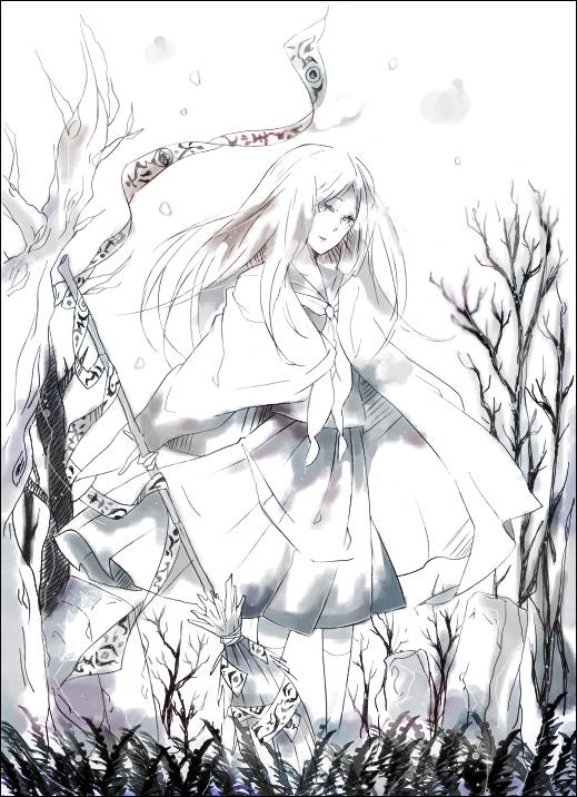 Tags: Anime, Wakoku Nito, Natsume Yuujinchou, Natsume Reiko, Pixiv, Fanart