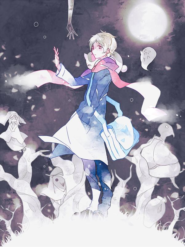 Tags: Anime, Pixiv Id 3390462, Natsume Yuujinchou, Nyanko-sensei, Natsume Takashi, Pixiv, Natsume's Book Of Friends