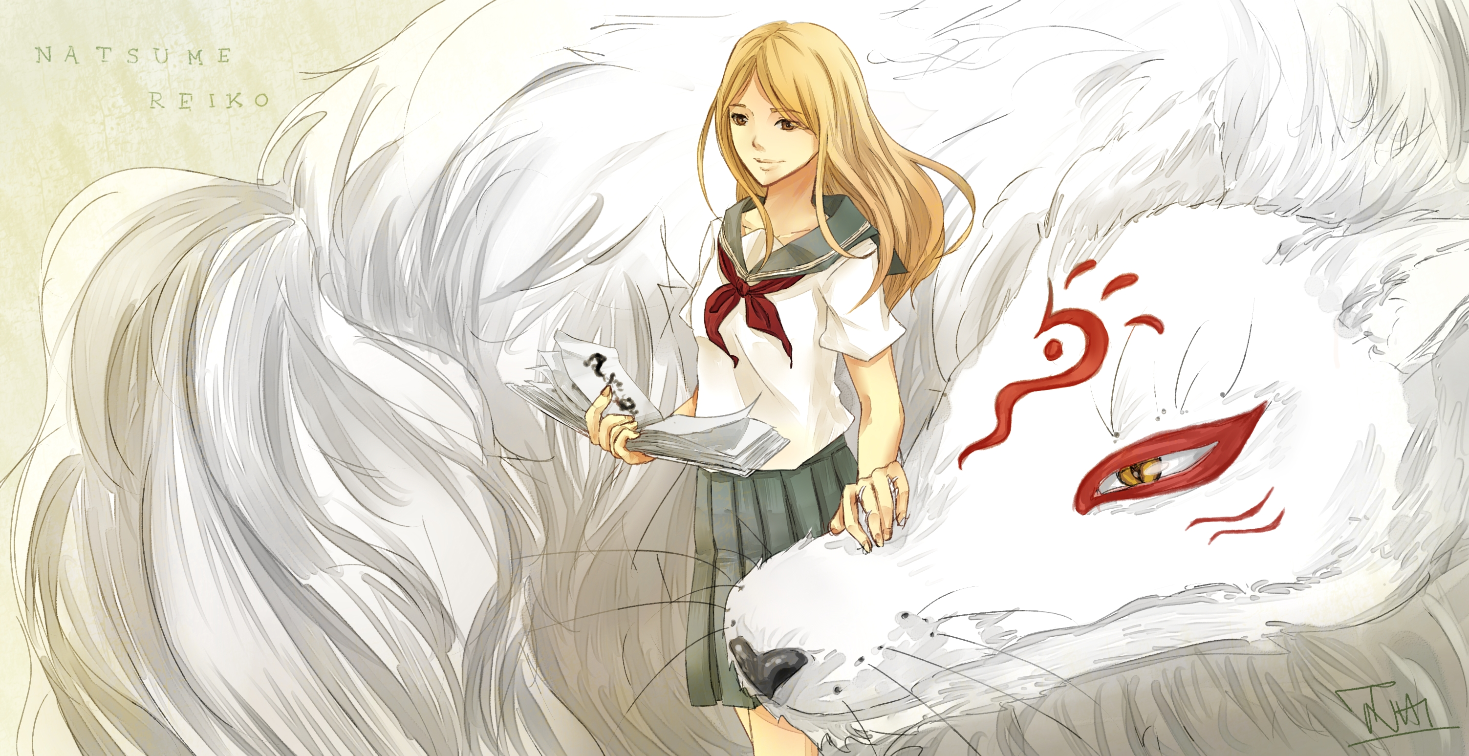 Natsume Yuujinchou Natsume S Book Of Friends Female Page 6 Zerochan Anime Image Board
