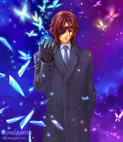 Tags: Anime, Mobile Suit Gundam 00, Neil Dylandy, Lockon Stratos, Gundam Meisters