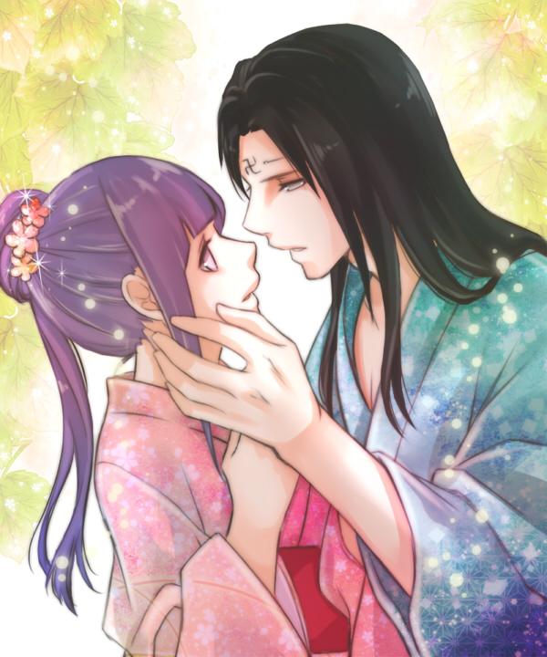 Tags: Anime, Aoi-mitsubachi, NARUTO, Hyuuga Neji, Hyuuga Hinata, Cousins, Fanart, Pixiv, Hyuuga Family, NejiHina
