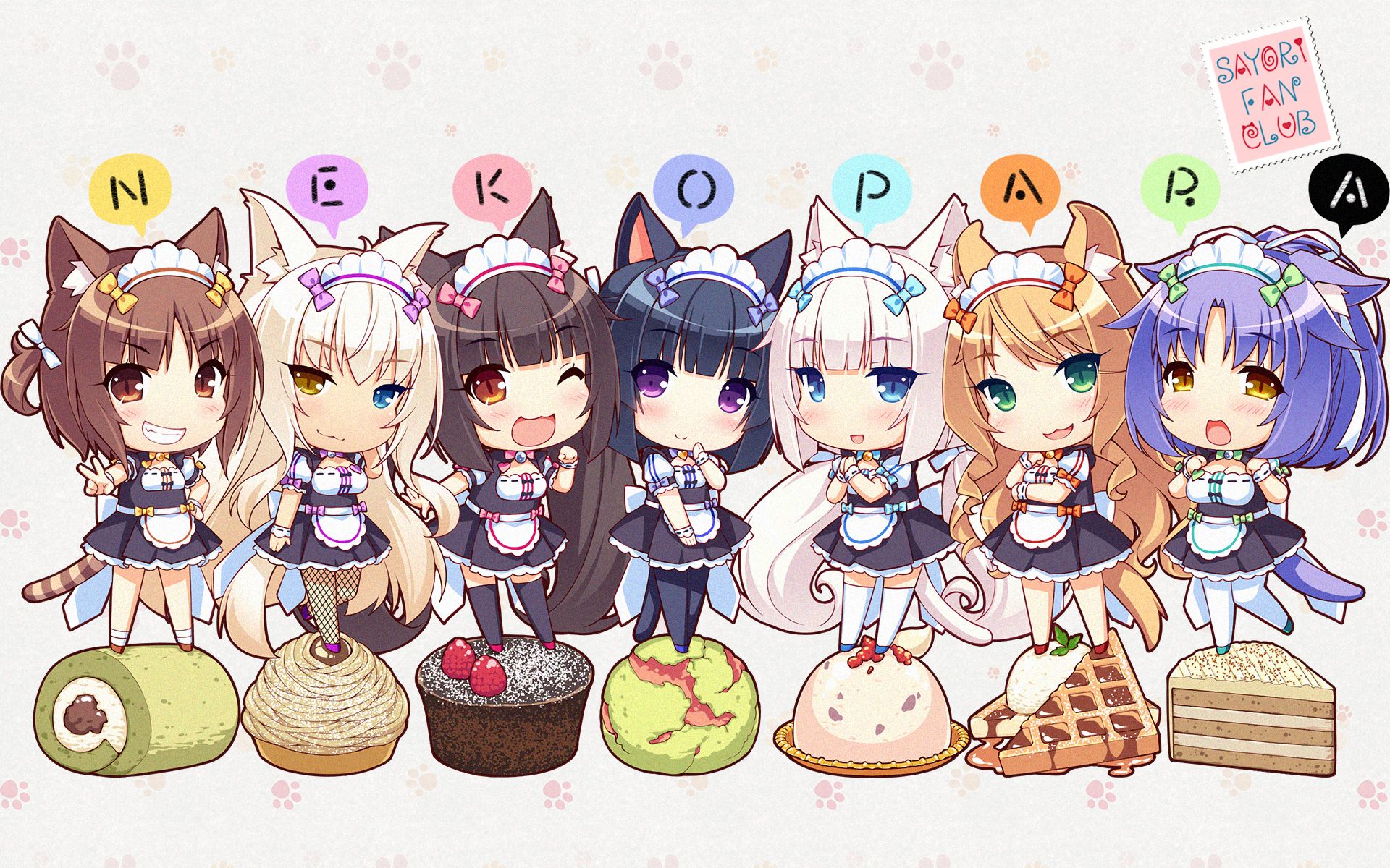 Coconut Neko Para Zerochan Anime Image Board