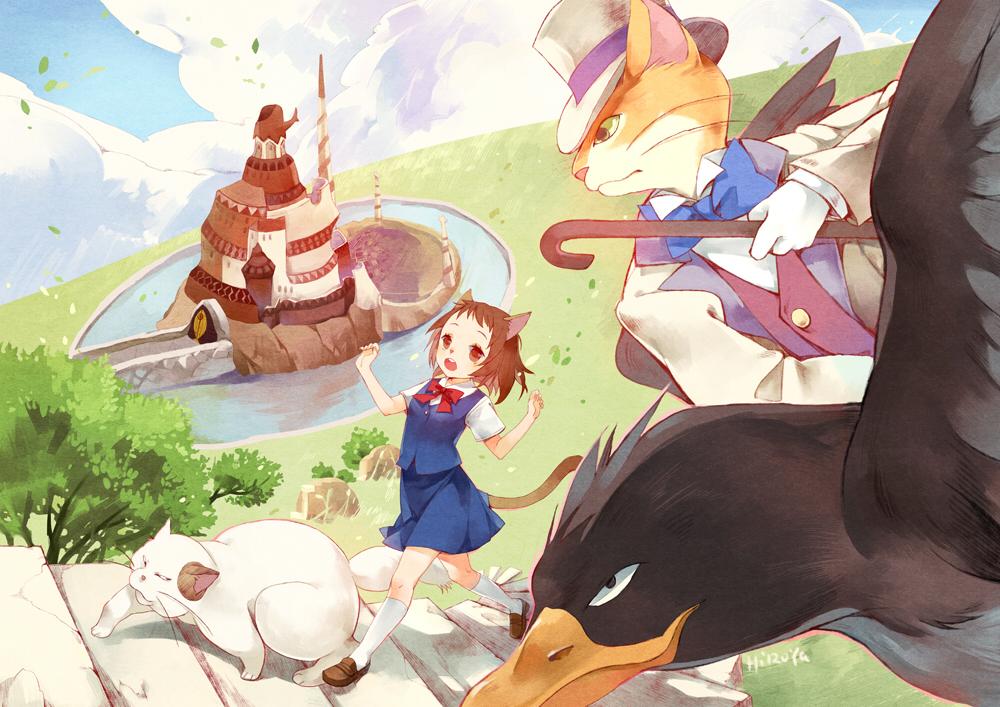 Resultado de imagem para Neko no Ongaeshi