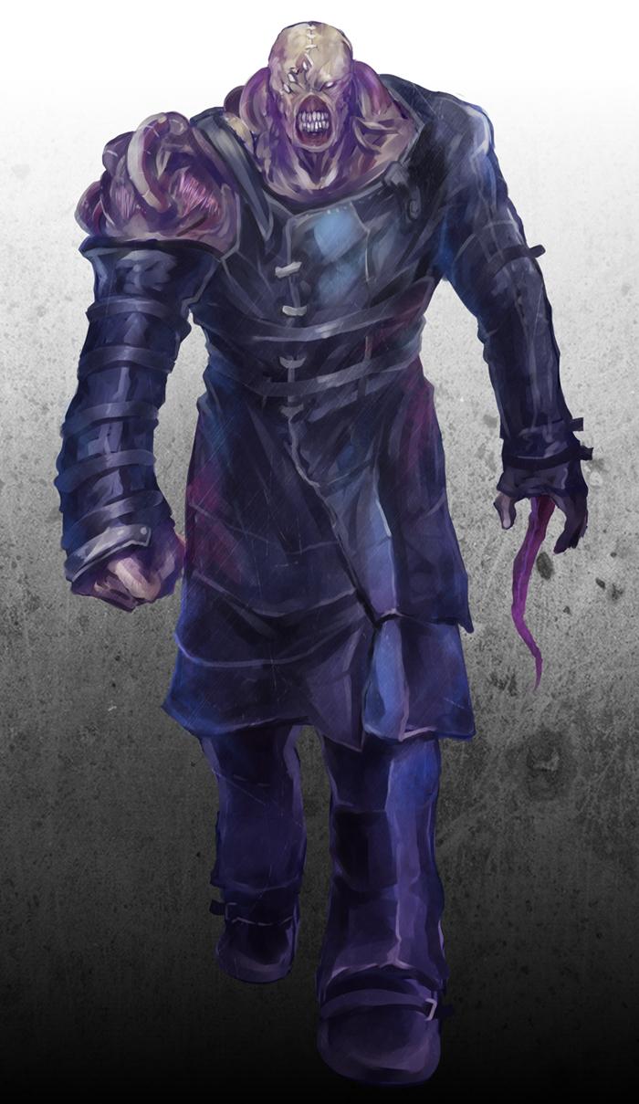 Nemesis Biohazard Resident Evil 3 Nemesis Zerochan