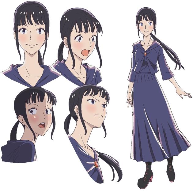 Tags: Anime, Shibata Yuka, ufotable, Majokko Shimai no Yoyo to Nene, Nene (Majokko Shimai no Yoyo to Nene), Official Art, Character Sheet, Cover Image