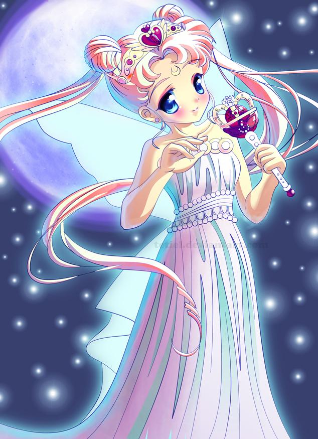 Tags: Anime, Tetiel, Bishoujo Senshi Sailor Moon, Tsukino Usagi, Neo-Queen Serenity, Serenity Crystal Tiara, Eternal Tiare, Mobile Wallpaper
