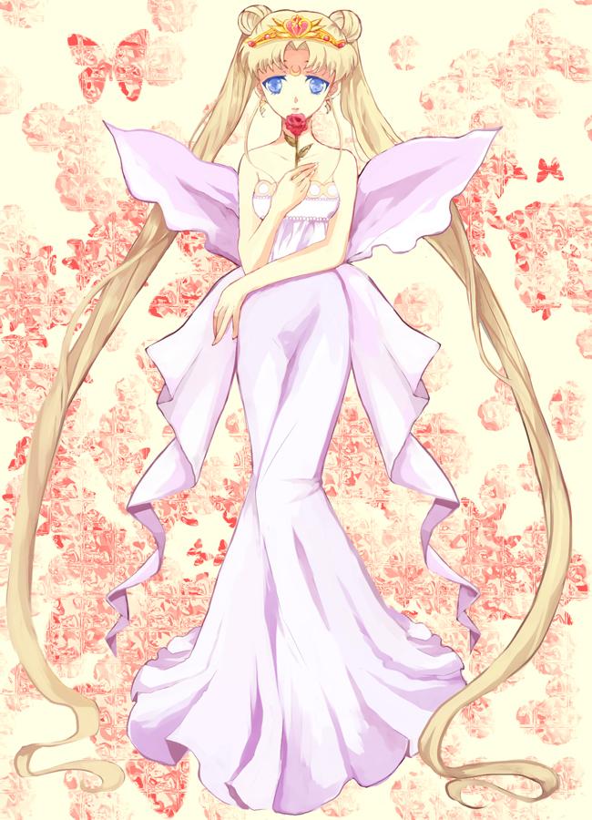 Tags: Anime, Bishoujo Senshi Sailor Moon, Neo-Queen Serenity, Tsukino Usagi, Serenity Crystal Tiara, Mobile Wallpaper, Fanart