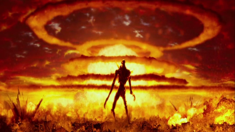 Tags anime neon genesis evangelion destruction explosion artist request