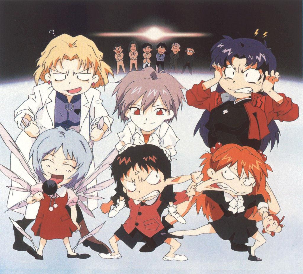 Tags Anime Nobutoshi Ogura Gainax Neon Genesis Evangelion Die Sterne