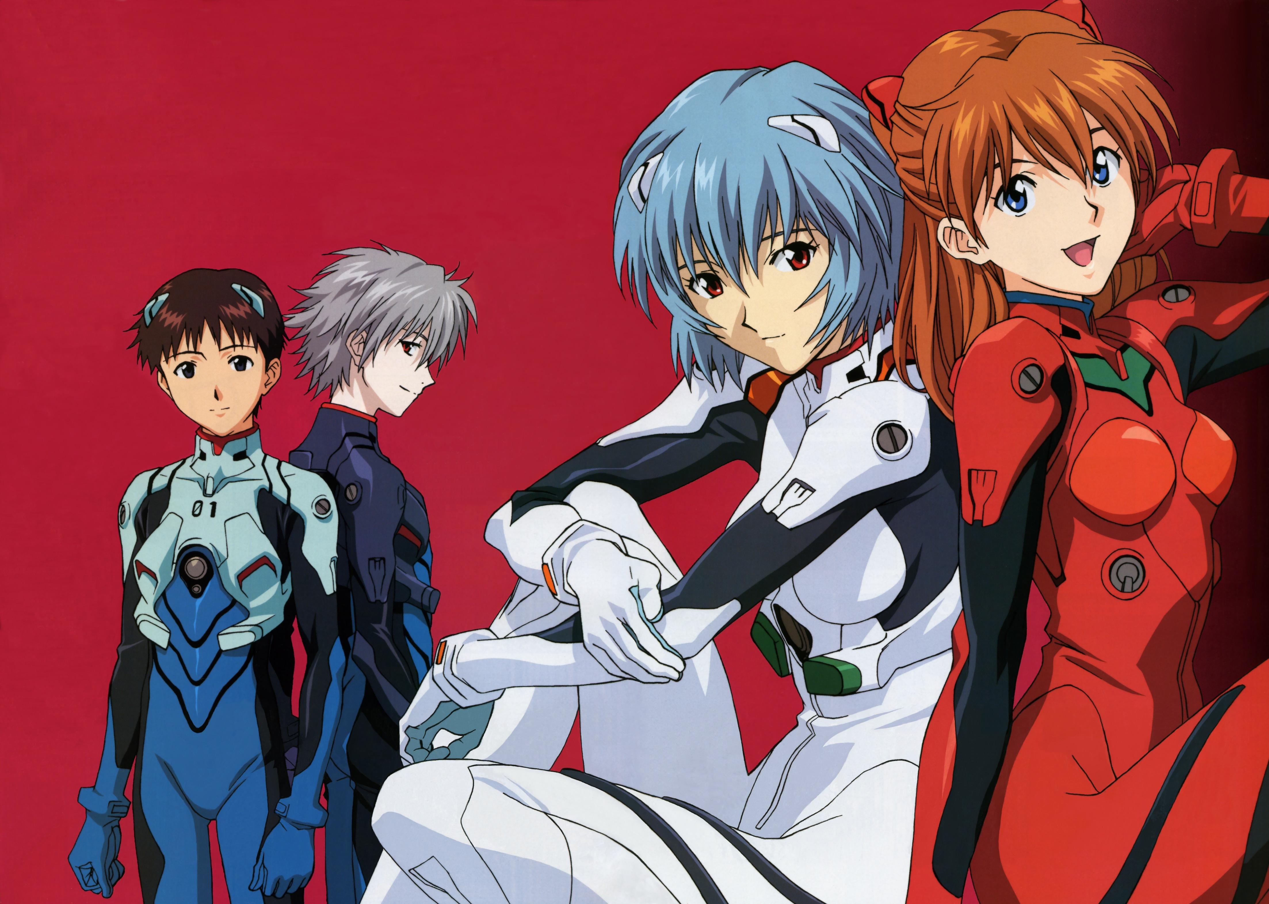 Tags Anime Matsubara Hidenori Gainax Neon Genesis Evangelion Nagisa Kaworu
