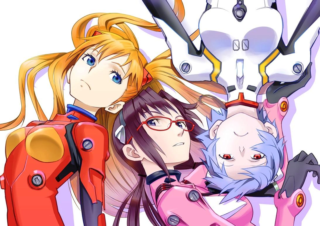 Tags: Neon Genesis Evangelion, Ayanami Rei, Makinami Mari Illustrious, Souryuu Asuka Langley, Sino (Rtlsino)
