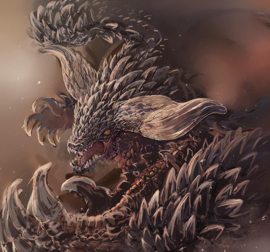 Nergigante Monster Hunter World Zerochan Anime Image Board